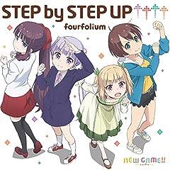 fourfolium「STEP by STEP UP↑↑↑↑」のジャケット画像