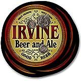Irvineビール& Ale–4パックドリンクコースター