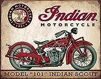 JOOCARインディアンスカウトオートバイスズサイン