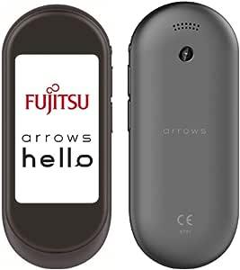 FUJITSU ATMD01002 arrows hello AT01 墨(SUMI)