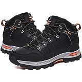 [RDGO] トレッキングシューズ メンズ ハイキングシューズ トレッキングブーツ 登山靴 アウトドアシューズ 防滑 ローカット ウォーキングシューズ 防水 大きいサイズ 幅広 スニーカー