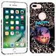 iPhone 7 Plus Case / iPhone 8 Plus Case - Tropical Palm Trees Hard Plastic Back Cover. Slim Profile Cute Printed Designer Snap on Case by Glisten [並行輸入品]
