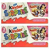 キンダーサプライズチョコレート DC スーパーヒーローガールズ | Kinder Surprise Eggs 20g DC Super Hero Girls Edition 2 x 3-Pack (6 Eggs) …