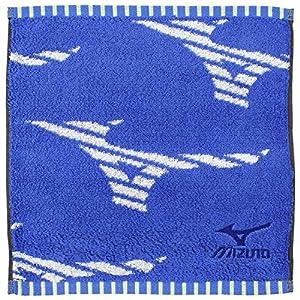 ハンカチ プチタオル ミズノ F2001 吸水 速乾 ブルー PF200101