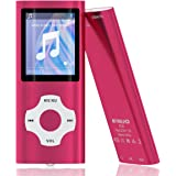 MYMAHDI - Digital, Compact and Portable MP3 / MP4 Player (Max Support 64 GB Micro SD Card) with Photo Viewer, E-Book Reader a