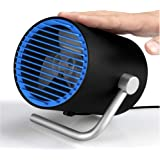 USB Fan,Small Table Fan with Two Settings, Personal Mini Desk Fans USB Powered Plug in Computer for Home, Office,Dorm,Touch C