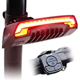 MEILAN X5 Smart Bike Tail Light with Turn Signals and Automatic Brake Light Wireless Remote Control Bike Rear Light Back USB
