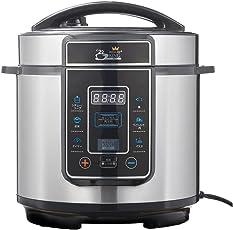 ショップジャパン 電気圧力鍋 プレッシャーキングプロ 3.7L 無水調理 蒸し料理 PKP-NXAM