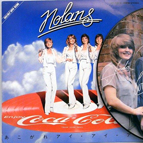 [画像:【検聴済:針飛びしない↑画像の安心レコード】【美盤!】1981年・ノーランズ(企業物)・コカコーラ非売品「 あこがれアイ・アイ・アイ 」【EP】]
