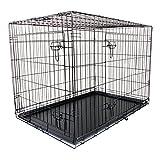 WEIMALL 犬用 ペットケージ 折りたたみ 大型犬 用 XXLサイズ 105×77×70cm ケージ 組立簡単 持ち運び ワンちゃん 犬小屋 イヌ