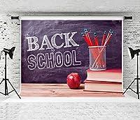 ケイトBack to School Backdrop子供写真用カスタマイズされたフォトスタジオ小道具