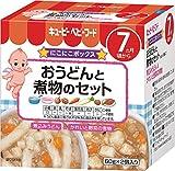 キユーピーベビーフード おうどんと煮物のセット (60g×2個)×4個