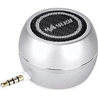 LC-dolidaポータブルスピーカー ミニ 小型 ステレオ大音量 3.5mmジャック USB充電