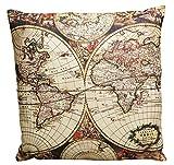 ハットトリック 世界地図 クッション マップ A 2K-362