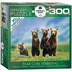 Bear Cubs Standingパズル、300-piece