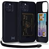 TORU CX PRO Compatible with iPhone 12/12 Pro Case - Protective Dual Layer Wallet with Hidden Card Holder + ID Card Slot Hard