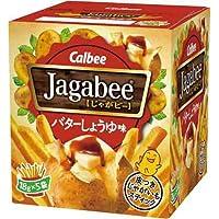 カルビー Jagabeeバターしょうゆ味 90g
