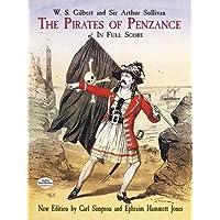 The Pirates of Penzance in Full Score (Dover Music Scores)