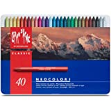 Caran Dache Metal tin with 40 assorted colours