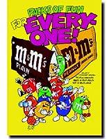 ★M&M'sのポスター エムアンドエムズ m&m's