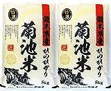 新米【 精白米 】 熊本県 菊池産 ヒノヒカリ 10kg(