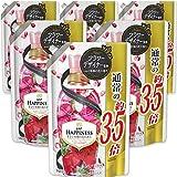 【ケース販売】レノア ハピネス 柔軟剤 アンティークローズ&フローラル 詰め替え 約3.5倍(1485mL)×6袋