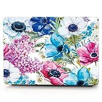 13.3 air inch macbook case,beautiful corn poppy hard PC slim ultra-thin macbook shell cover case DIGIC high protection anti drop macbook case for 13 air inch laptop (A1369 and A1466) (corn poppy)