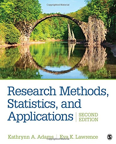 Download Research Methods, Statistics, and Applications 1506350453