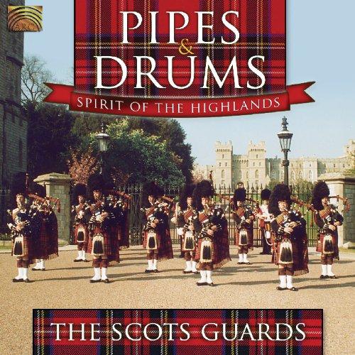 スコットランドの軍楽 - バグパイプと太鼓 - ハイランドの魂 (Pipes...