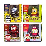 Kay Alf Duck Selly 4 kinds of friends, Korean Animation Robot Train Transformer, Train Robot character, Toy Kids
