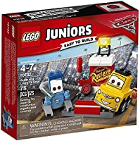 LEGO Disney Cars Cars 3 Juniors Guido and Luigi's Pit Stop Set #10732 [並行輸入品]