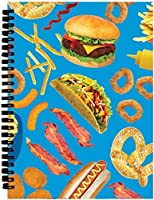[iscream]iscream 'Junk Food' 3D SpiralBound Journal 724-797 [並行輸入品]