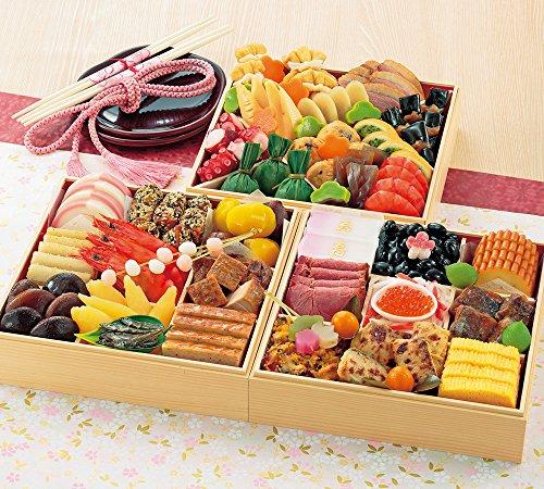 京菜味のむら おせち「華御所」三段重 39品 (12月31日着)