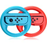 VOYEE Switch Steering Wheel, Compatible with Mario Kart 8 Deluxe Nintendo Switch Wheel, Joycon Controller Racing Steering Whe