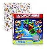 マグフォーマー MAGFORMERS 62ピース ラッピング包装セット マグネット おもちゃ 知育玩具 男の子 女の子 [並行輸入品]