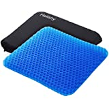 Gel Seat Cushion,1.65inch Double Thick Egg Seat Cushion,Non-Slip Cover,Help in Relieving Back Pain & Sciatica Pain,Seat Cushi