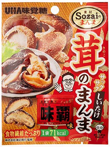 味覚糖 Sozaiのまんま 茸のまんま味覇味袋 15g×6袋
