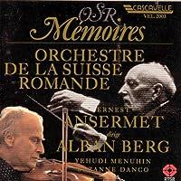 Berg: Violin Concerto/etc.