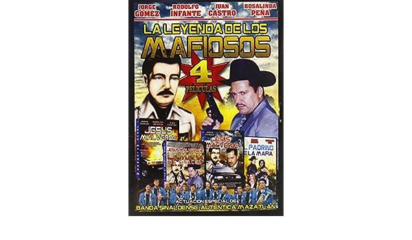 amazon co jp leyenda de los mafiosos 4 peliculas dvd import