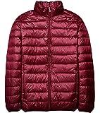 青空販売 メンズ 秋冬 軽量 ダウンジャケット コート スタンドカラー
