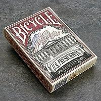 自転車米国大統領Limited Edition (レッド)デッキby Collectable Playing Cards