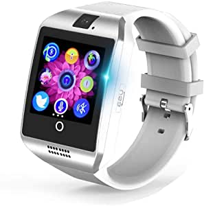 スマートウォッチ 2019 watch smart スマートウォッチ通話機能付き bluetooth時計 活動量計 心拍計 歩数計 健康 スマートブレスレット 着信通知 子供用 腕時計 アラーム時計 日本語説明書付き