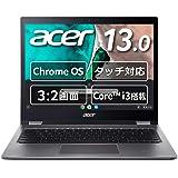 Chromebook クロームブック Acer ノートパソコン 13.5型 英語キーボード Spin 13 CP713…