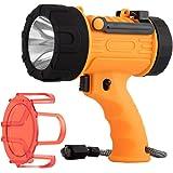 Rechargeable spotlight,18W IPX7 Water-Resistant Flashlight, Super Bright 2000 Lumens CREE LED ,10000mAh 20h Ultra-long Standb