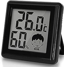ドリテック デジタル温湿度計 「ピッコラ」