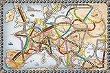 チケット トゥ ライド ヨーロッパ ドイツ語版 画像
