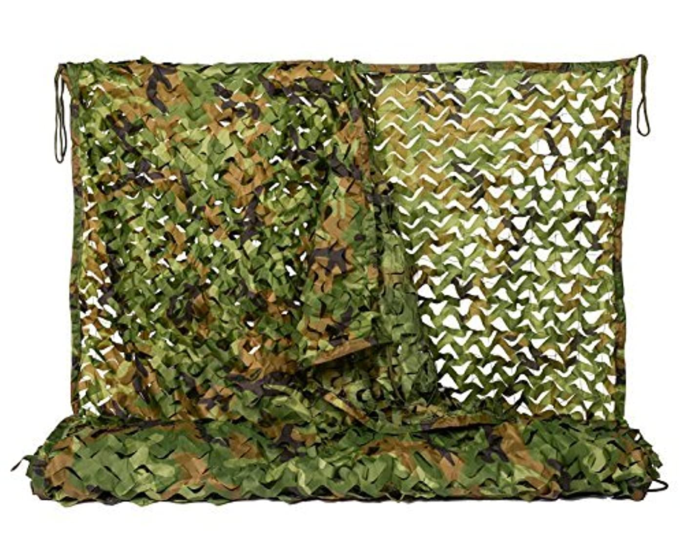プロフェッショナル勝利した浮くNINAT Camo Netting 5x13ft Woodland Camouflage Net for Camping Military Hunting Shooting Sunscreen Nets [並行輸入品]