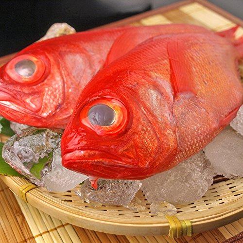 千葉県産 金目鯛使用 金目鯛の煮付けに最適なサイズです 1尾250-400gが2尾入り