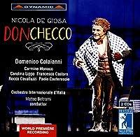 ニコラ・デ・ジョーザ:歌劇「ドン・チェッコ」2幕のオペラ・ブッファ[2CDs]