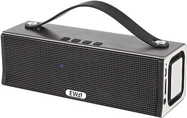 EWA D560 プレミアムステレオスピーカー、 スタイリッシュデザイン 迫力ある低音【20W出力オーディオ (10Wデュアルドライバー)/デュアルサブウーハー/ワイヤレススピーカ搭載】 iPhone/iPad/Sony/Nexus/Android各種対応 (グレー)